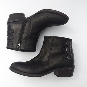 MIA Black Ankle Boots size 6.5